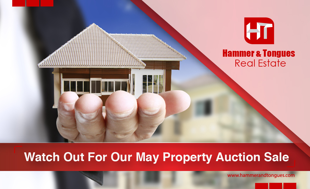 Look out for our May property sale!